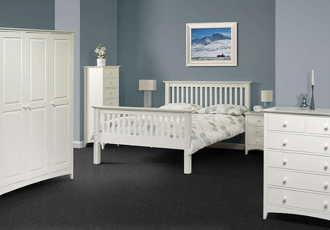 Aspen White Bedroom Furniture | Oak Furniture Uk