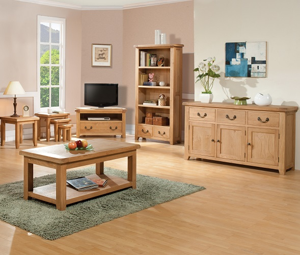 Buttermere Light Oak Living Room Furniture Oak Furniture Uk
