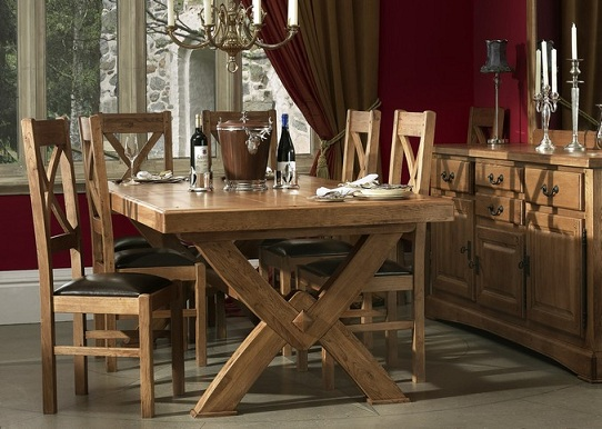 dining table chateau oak dining table