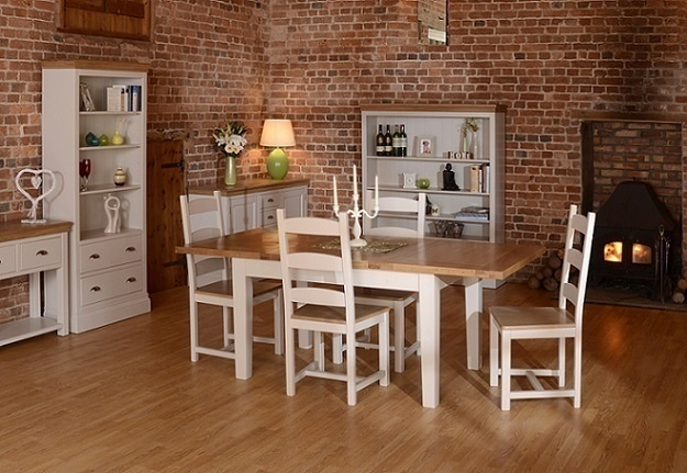 Country Oak And Painted Dining Room Furniture Oak Furniture Uk