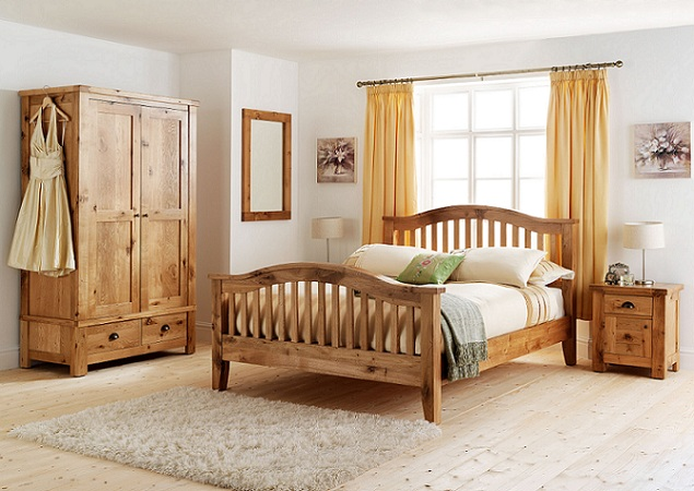 Rustic Bedroom Sets Decoration Design