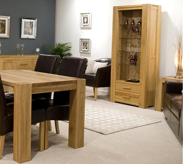 Impressive Solid Oak Dining Room Furniture 595 x 532 · 128 kB · jpeg