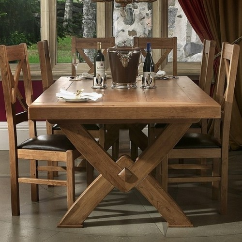 Cross Leg Dining Tables