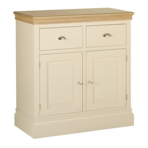 Country Oak and Painted 2 Door Sideboard