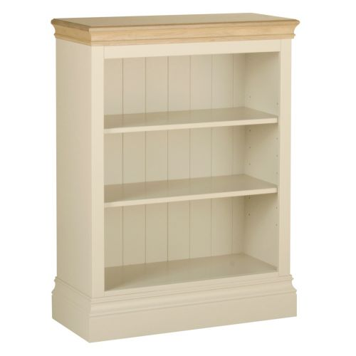Country Oak and Painted 3ft Bookcase