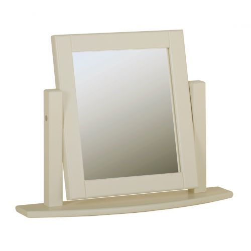 Country Oak and Painted Dressing Table Mirror