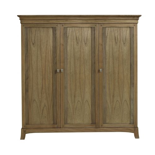 Lincoln Ash 3 Door Triple Wardrobe