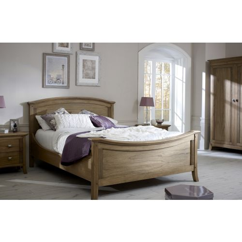 Lincoln Ash 5′ King Size Bed