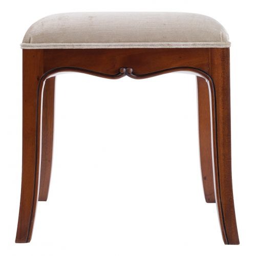 Louis French Mahogany Dressing Table Stool