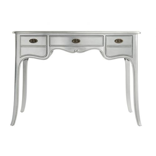 Louis French Silver Leaf Dressing Table