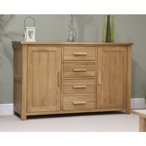 Opus Solid Oak Large 2 Door Sideboard