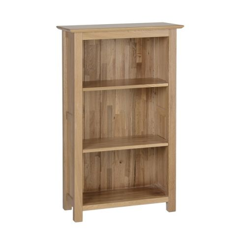 Oxford Contemporary Oak 3ft Narrow Bookcase