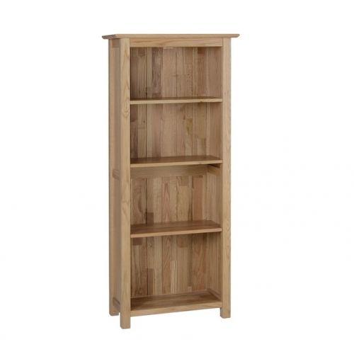Oxford Contemporary Oak 5ft Narrow Bookcase
