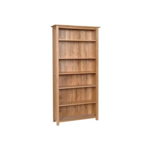 Oxford Contemporary Oak 6ft Tall Bookcase