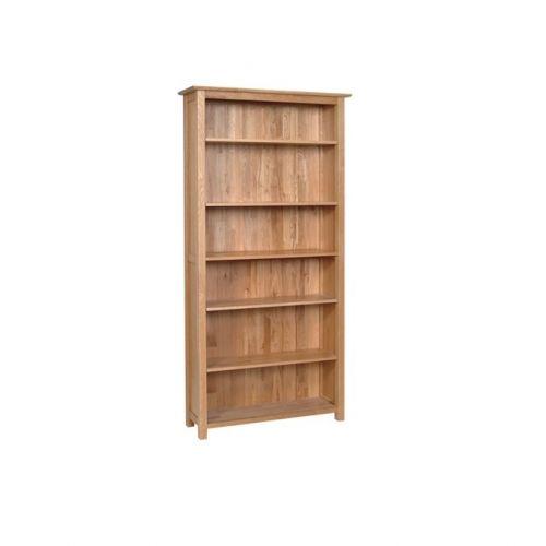 Oxford Contemporary Oak 6ft Tall Bookcase