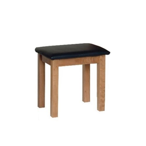 Oxford Contemporary Oak Dressing Table Stool