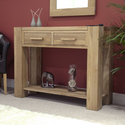 Trend Solid Oak Hall/Console Table