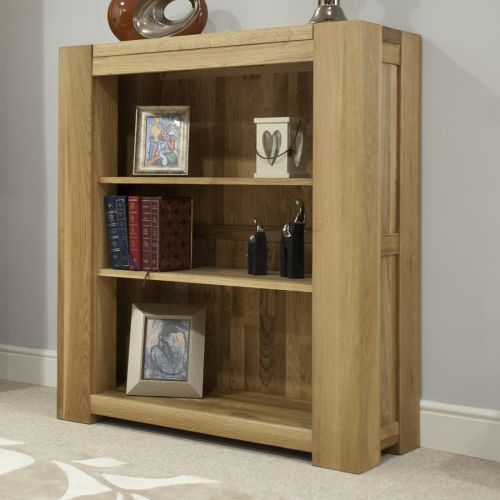 Trend Solid Oak Small Bookcase