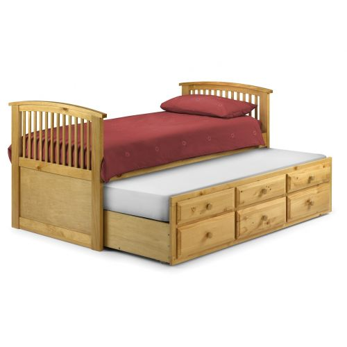 Trent Solid Pine 3' Single Cabin Bed