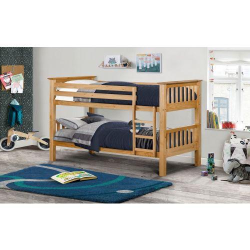 Trent Solid Pine Bunk Bed