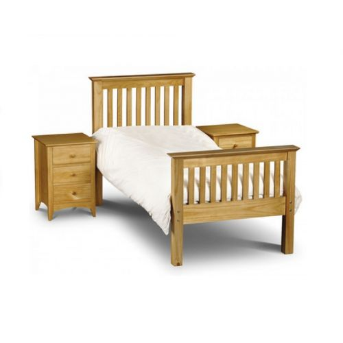 Trent Solid Pine High Foot End 3' Single Bed