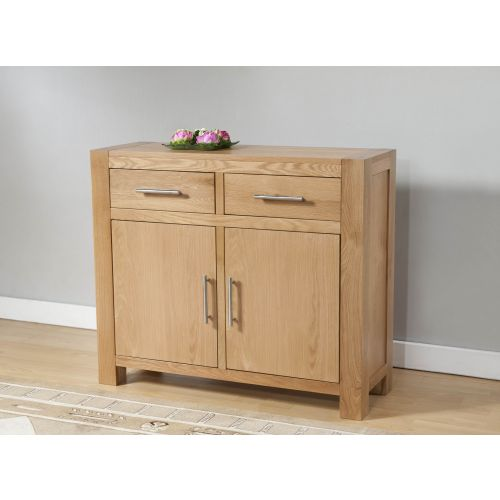 Aylesbury Contemporary Light Oak Small Sideboard