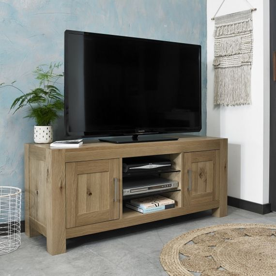 Turin Light Oak TV Unit