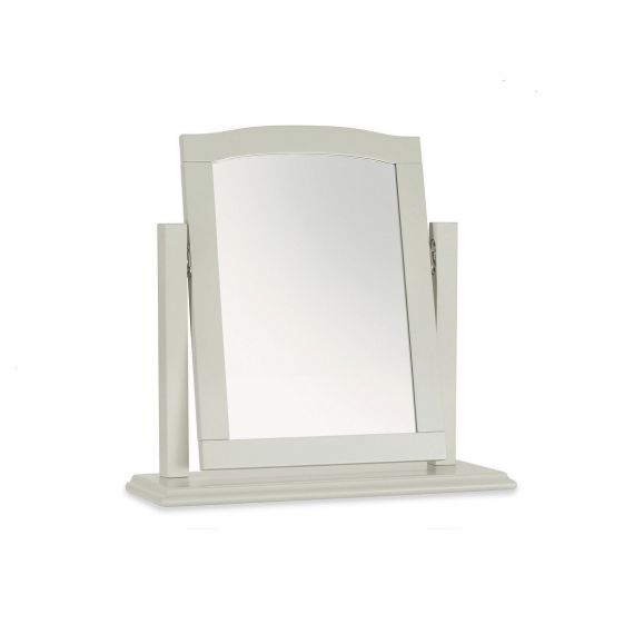 Ashby Cotton Painted Dressing Table Mirror - Ashby Bedroom furniture