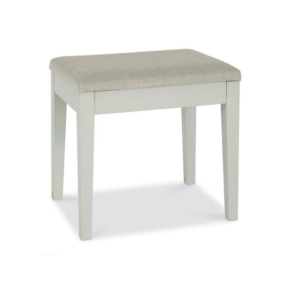 Ashby Cotton Painted Dressing Table Stool - Ashby Bedroom Furniture