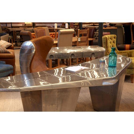 Aviator Aluminium Wing Desk