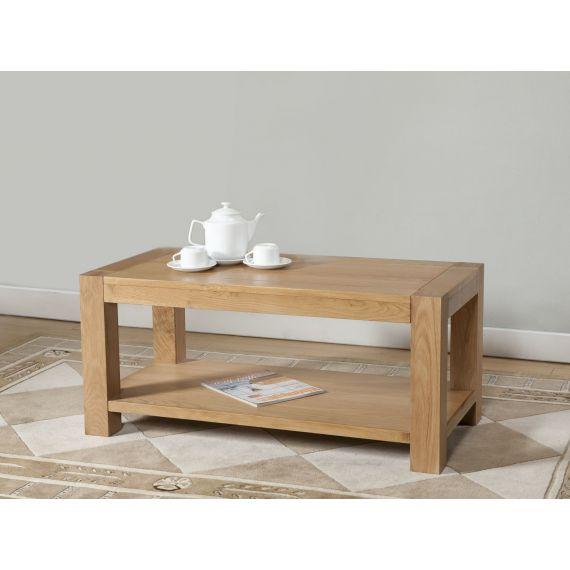 Aylesbury Contemporary Light Oak Coffee Table