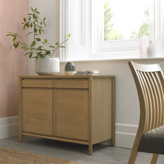 Bergen Oak Small Sideboard