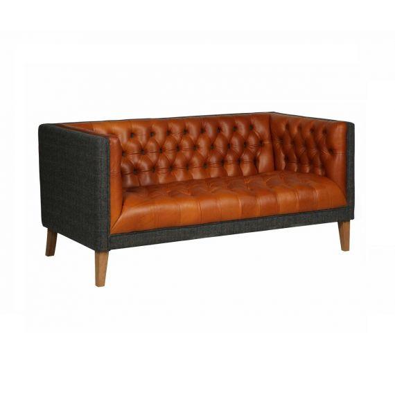 Bristol Club 2 Seater Vintage Sofa