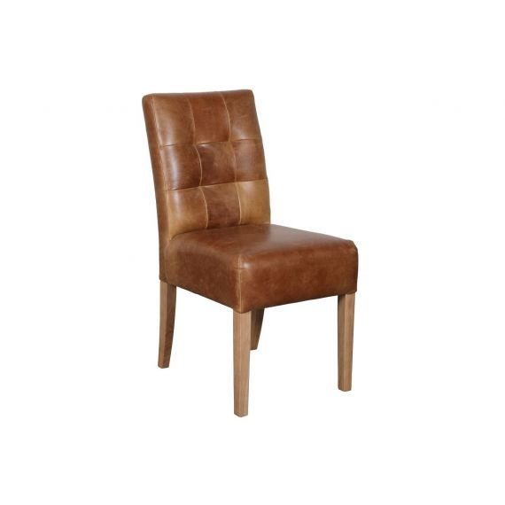 Colin Cerato Leather Dining Chair