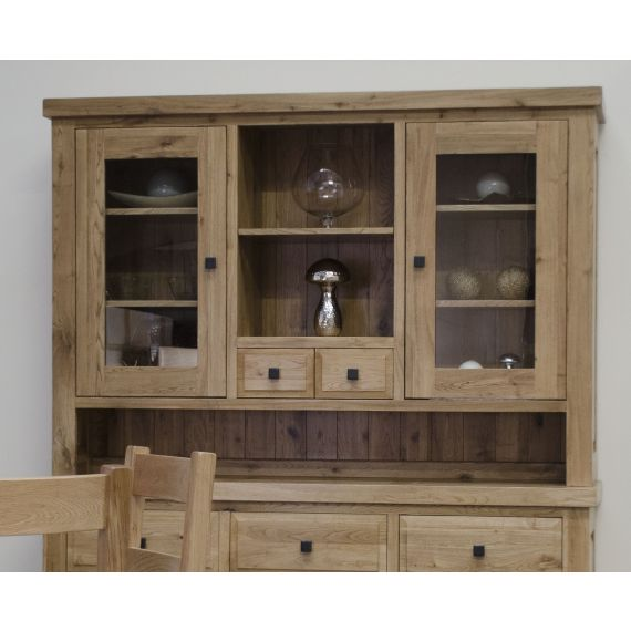 Coniston Rustic Solid Oak Large Display Top