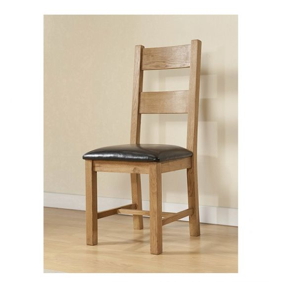Cotswold Rustic Light Oak Dining Chair