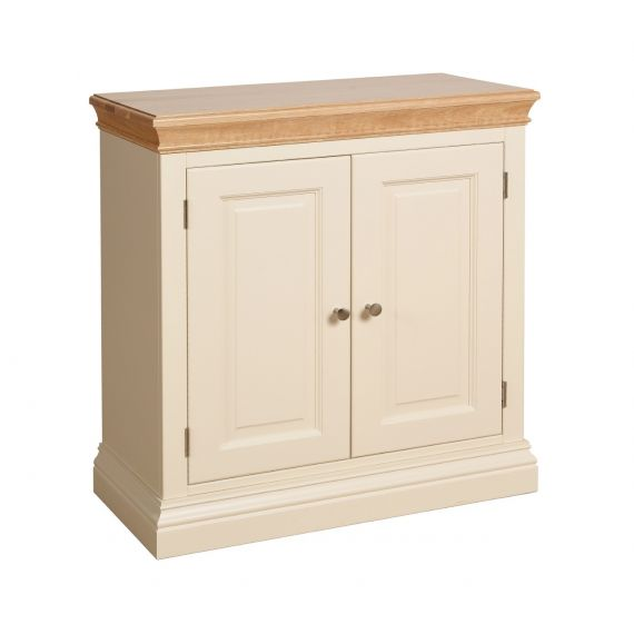 Country Oak and Painted Sideboard