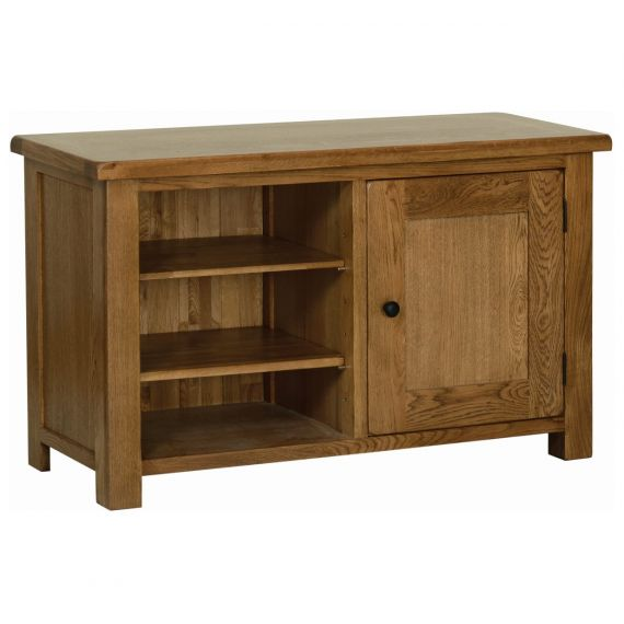 Edinburgh Rustic Oak TV Cabinet