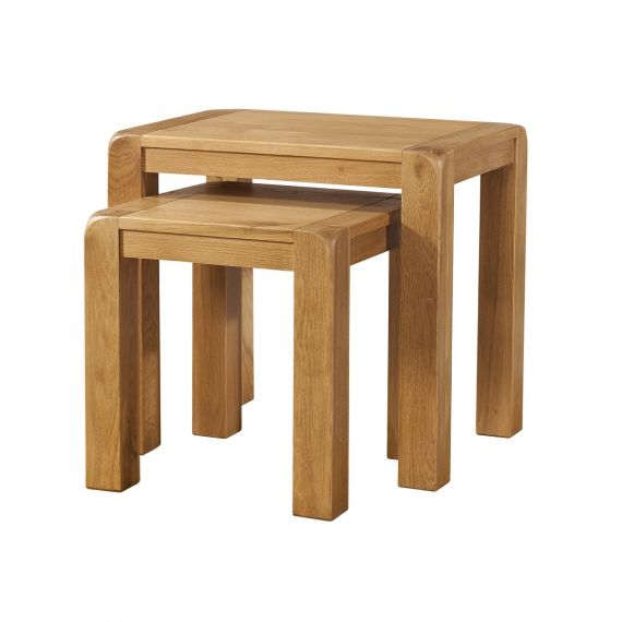 Fairfield Oak Nest of Tables