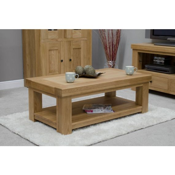 French Bordeaux Oak Large Coffee Table