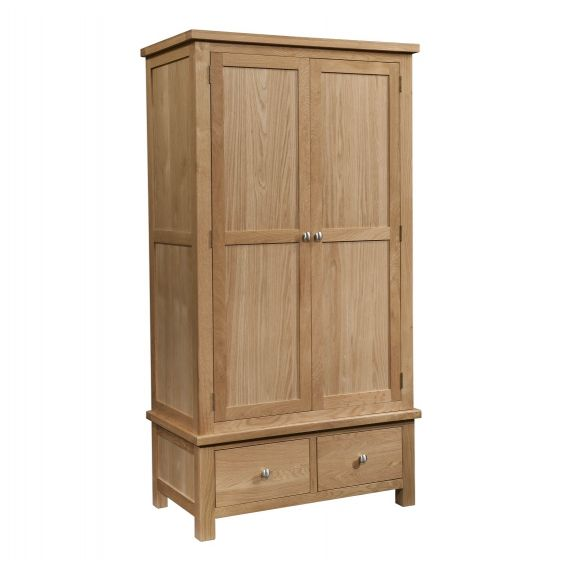 Grasmere Light Oak Gents Wardrobe