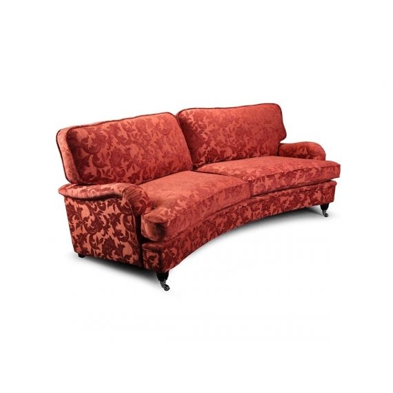 Hawksworth 4 Seater Curved Sofa