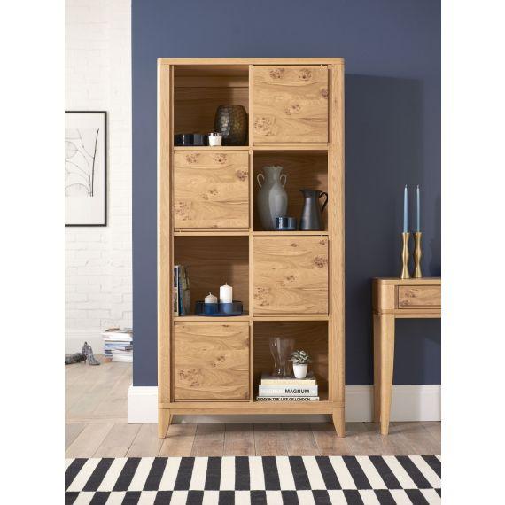 High Park Pippy Oak Display Cabinet - High Park Furniture