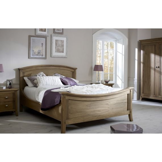Lincoln Ash 4′ 6″ Double Bed