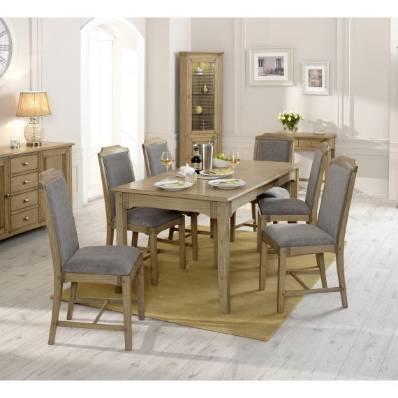 Lincoln Ash Large Extending Dining Table