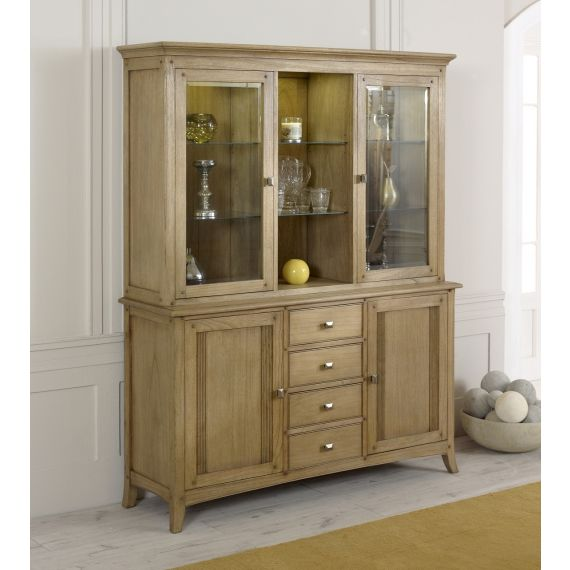 Lincoln Ash Large Welsh Dresser