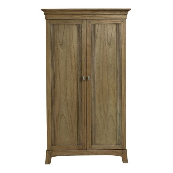 Lincoln Ash Small 2 Door Double Wardrobe