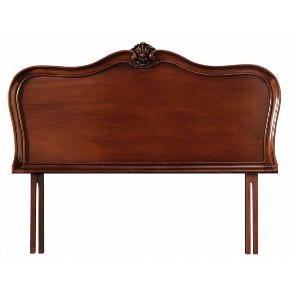 Louis French Mahogany 5' King Size Headboard