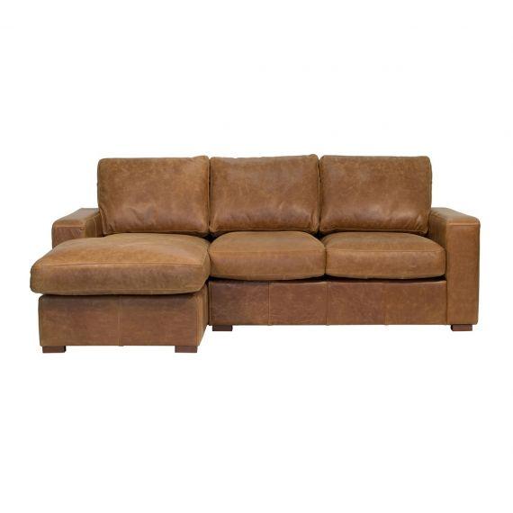 Maximus 3 Seater Corner Chaise Sofa - Left Hand Facing Chaise - Bespoke