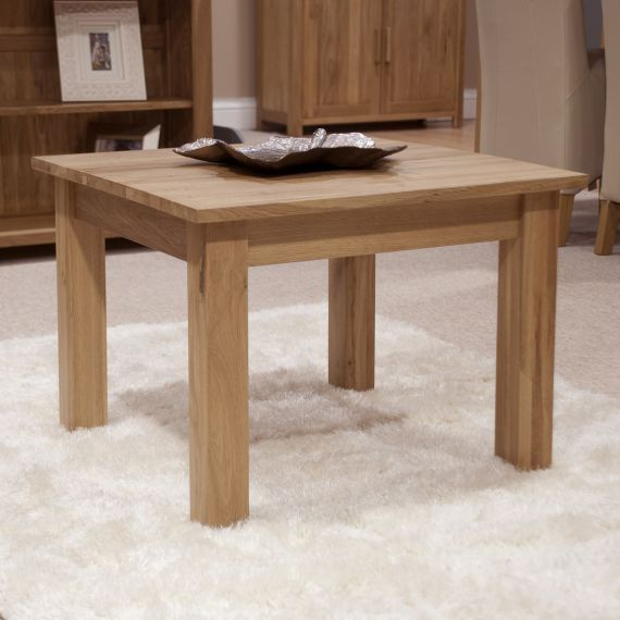 Occasional Solid Oak 2 x 2 Coffee Table